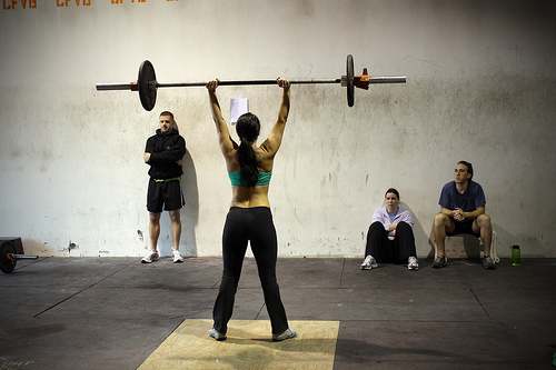 """CrossFit chicks are hot."