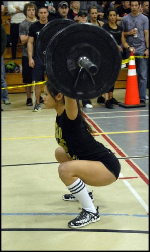 That's no power snatch...